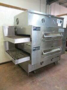Middleby Marshall Ps360wb70 Doublestack Pizza Oven 40 Conveyor Belt Free Ship