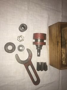 Snap On Blue Point Cylinder Ridge Reamer Vintage Tool In Wood Box