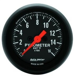 Autometer 2654 Z series Electric Pyrometer Gauge Kit