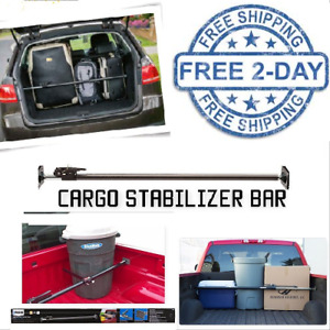 Adjustable Ratcheting Cargo Bar Pickup Truck Bed Load Stabilizer Heavy Duty Suv