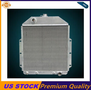 3 Rows aluminum Radiator Fit 1942 48 49 50 51 52 Ford Truck Pickup chevy Engine