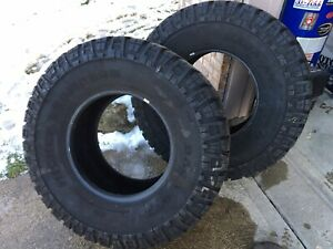 1 Pair 2 Used Mickey Thompson Baja Atz Radial Traditional Lt395 65r18 Tires