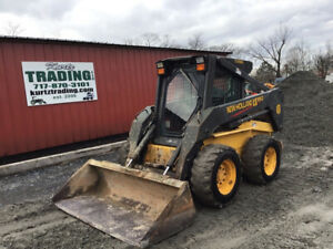 2004 New Holland Ls180 Skid Steer Loader W Cab 2 Speed Only 2400hrs