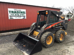 2004 New Holland Ls170 Skid Steer Loader W Cab Heat