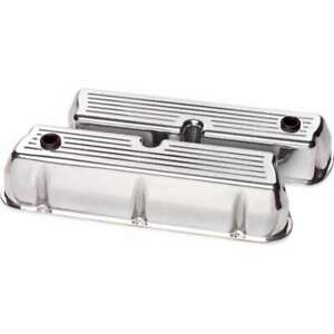 Billet Specialties Sbf Valve Covers Tall P N 95320