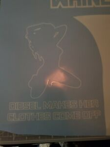 Diesel Turbo Decal Sticker Cummins Duramax Powerstroke