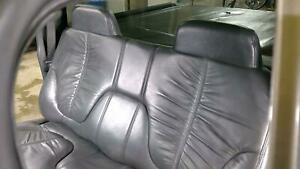 2003 Chevy S10 Crew Cab Rear Leather Bench Seat graphite 122 Oem