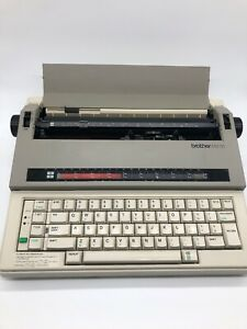 Brother Em 30 Electronic Typewritter Wheel Electronic Typewriter Untested As Is