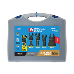 Imperial Blades iboatv 15 Pack Onefit Oscillating Blade W case Free Shipping
