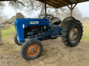 1964 Ford 2000 Series Used Compact Tractor Gas Agriculture Farming Equipment