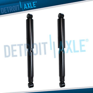 Pair 2 Rear Shocks Absorbers For Cadillac Escalade Esv Ext Chevy Avalanche 1500