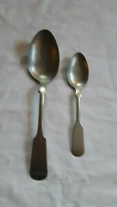 Vintage Hall Elton Vintage Spoons Flatware Silverware Lot Of 2