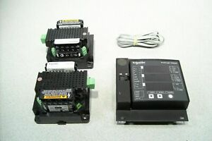 Dual Schneider Electric Powerlogic Ion6200 Power And Energy Meter 2x 6200t