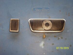 1971 73 Ford Mustang Original Pedal Rubber Covers And Trim full Set Of Trim