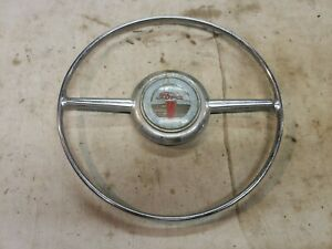 Original 1942 1948 Ford Horn Ring 1946 1947 Steering Wheel Button