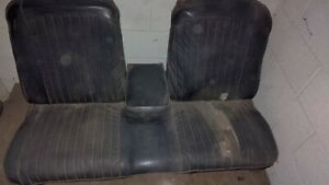 1967 1968 Ford Mustang Factory Bench Seat With Arm Rest Mercury Cougar