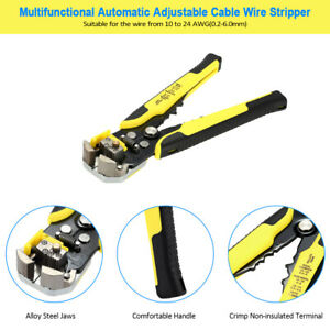 Pro Professional Crimper Plier Crimping Tool Cable Wire Terminals Kit Set E8x8