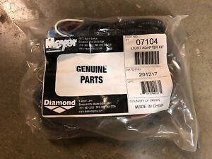 Meyer Snow Plows Adapter Harness Gmc chevy jeep My07104
