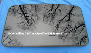 2004 Cadillac Cts Oem Factory Year Specific Sunroof Glass Free Shipping