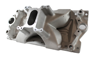 Victor Jr Sportsman 2v 23 Degree Intake Manifold Small block Chevy