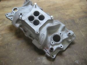 Brodix Hp1 Dual Plane Intake Manifold For Small Block Chevy Sbc