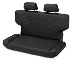 Bestop 39435 01 For Jeep Tj Rear Seat Trailmax Ii Fold N Tumble Bench Blk Crush