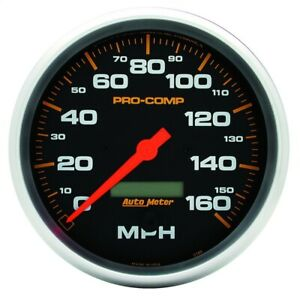 Autometer 5189 Pro comp Electric In dash Speedometer