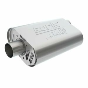 Borla Cratemuffler Gm 350 383 406 2 5in In out Atak P n 400820