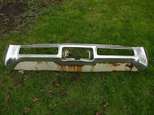 1970 Buick Riviera And Riviera Gs Rear Bumper Core And Lower Valance 9