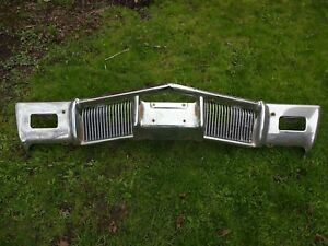 1970 Buick Riviera And Riviera Gs Front Bumper Core 10