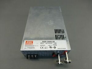 Meanwell Rsp 3000 48 Power Supply 200 240vac 48v