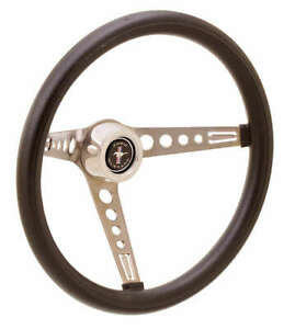 Gt Performance Steering Wheel Gt3 Retro Mustang Foam P N 35 5451