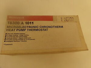 Honeywell T8300 A 1011 Microelectronic Chronotherm Heat Pump Thermostat