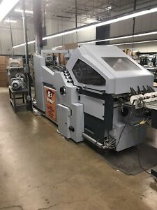 Horizon Afc 744akt Automated 29 X 43 Skid Fed Folder stahl Mbo Baum