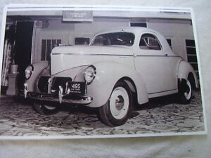 1940 Willys Coupe 11 X 17 Photo Picture