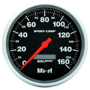 Autometer 3989 Sport comp Electric Programmable Speedometer