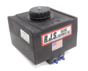 Rjs Safety Fuel Cell 5 Gal Blk Drag Race P n 3000501