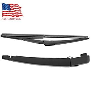 New Rogue Pathfinder Rear Windshield Wiper Arm Blade For 2013 2018 Nissan