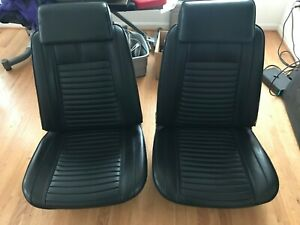 1966 Chevelle Seats Gto Oldsmobile A Body Headrest With Recline Passenger