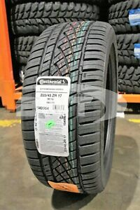 1 New Continental Dws06 91w 50k mile Tire 2254517 225 45 17 22545r17