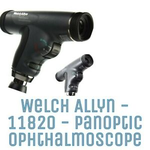 Welch Allyn 3 5v Panoptic Ophthalmoscope 11820