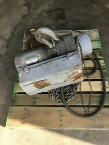 Coffing 3 Ton Electric Chain Hoist Made In Usa