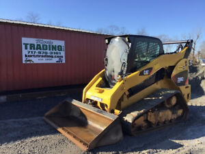 2013 Caterpillar 289c2 Compact Track Skid Steer Loader W Cab 2 Speed 1800 Hours