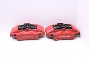 2000 2004 Porsche Boxster 986 Front Brake Calipers Brembo Set Pair Red