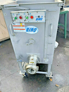 Biro Afmg 52 control System Parts Only Meat Mixer Grinder 7 4hp 3ph 208v