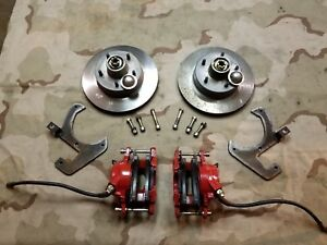 1961 1962 Chevrolet Corvette C1 V8 Disc Brake Rotors Bearings Calipers Gm