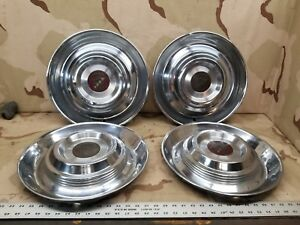 4 1954 1955 54 55 Cadillac Eldorado 15 Wheel Center Hub Cap Oem