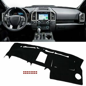 Dash Cover Black Fit Ford F150 2004 2005 2006 2007 2008 Dashboard Dashmat Pad