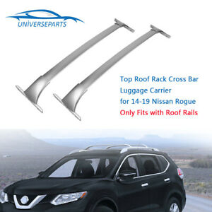 Top Roof Rack Cross Bar Luggage Carrier For 14 19 Nissan Rogue New