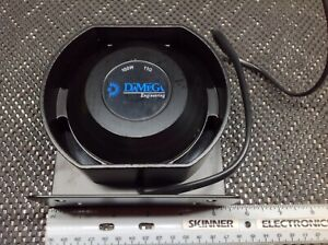 Damega Compact Oval Siren Speaker 100 Watt 11ohm Shome Code3 Federal Signal Able